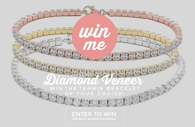 They say diamonds are a girls best friend and women enjoy being gifted jewelry. Enter for your chance to win the Diamond Veneer Tennis Bracelet giveaway.