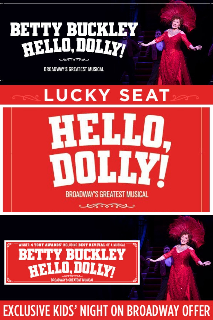 Don't miss Betty Buckly in Hello, Dolly! at the Arsht Center Nov. 20 - 25th. Enter the Hello, Dolly ticket lottery for your chance to score seats for $40.