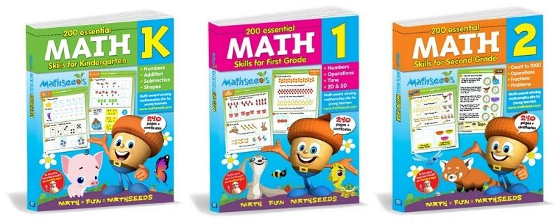 Reading Eggs and Math Seeds Learning Workbook Giveaway