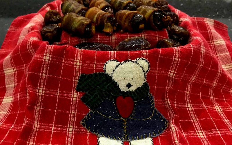 This Stuffed Bacon Wrapped Dates recipe is a crowd favorite at any gathering. Stuffed with delicious Mozzarella cheese, you will be the talk of the town!
