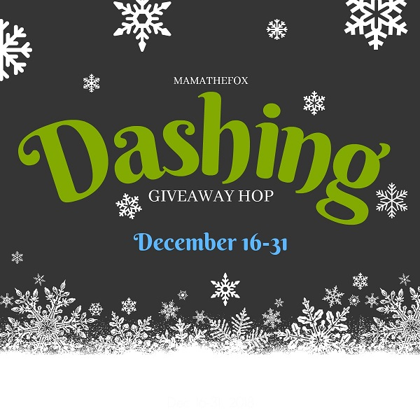 I've joined together with blogger friends for the Dashing Giveaway Hop - which includes my own personal $10 Amazon Gift Card giveaway.