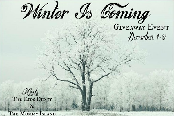 I've joined together with blogger friends for the Winter Is Coming Giveaway Hop - which includes my own personal $10 Amazon Gift Card giveaway.