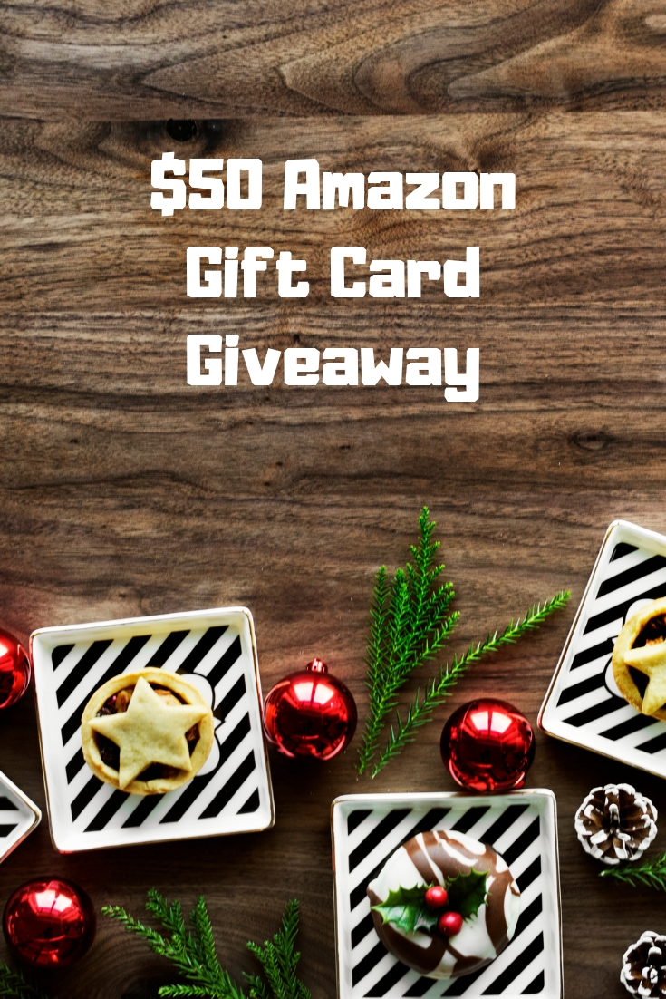 The holidays are here and it's time to treat yourself to something on your wishlist. Enter the $50 Amazon gift card giveaway for your chance to win!
