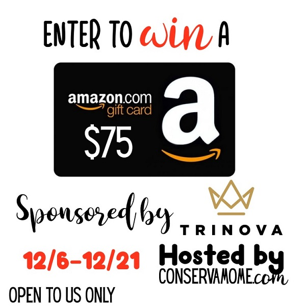 Enter to win the $75 Amazon Gift Card giveaway and let your fingers do the shopping for you! What would you buy with a $75 Amazon Gift Card?