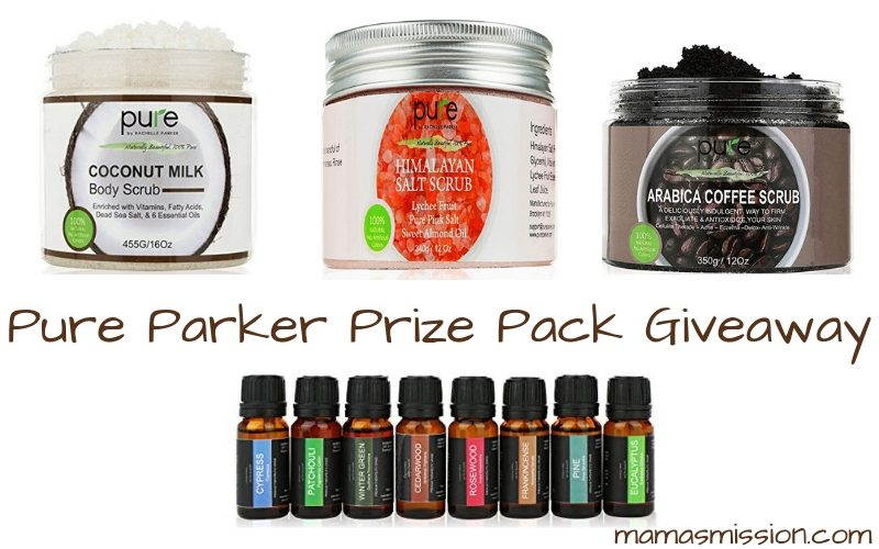 Time for some you and you time so you can pamper yourself for a year well done. Enter to win the Pure Parker Prize Pack giveaway that packs a punch!