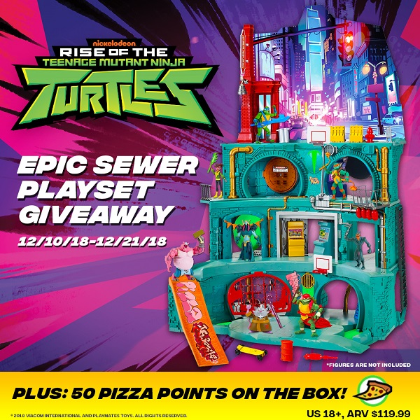 Do you remember the most awesome turtles ever to ride the sewers? Enter to win the Rise of the Teenage Mutant Ninja Turtles Epic Sewer Lair giveaway.