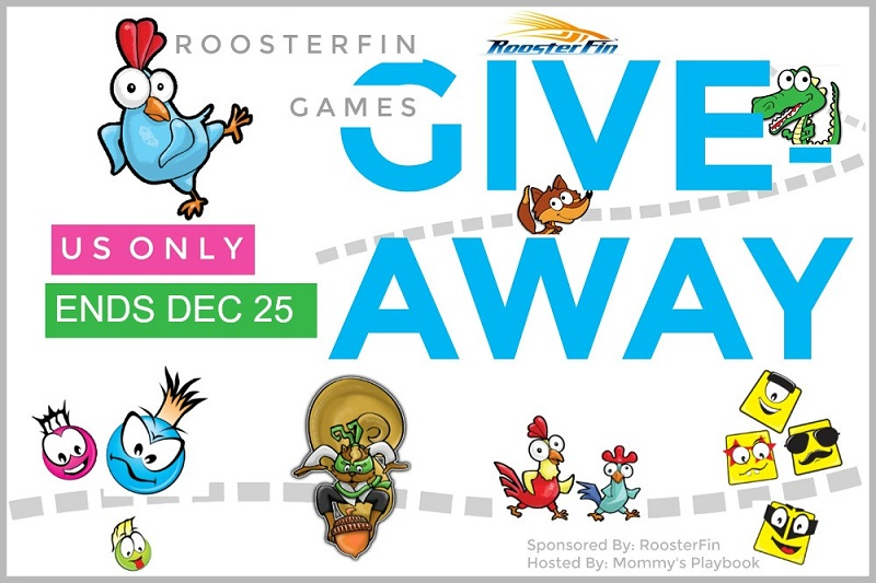 Looking for fun for your next family game night? Enter for your chance to win the Roosterfin Board Games giveaway and challenge your family to a game night.