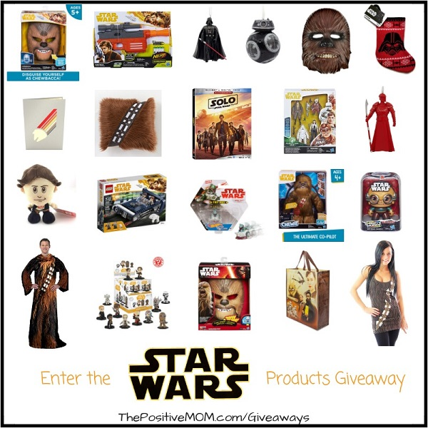 It's gift giving time and if you are a Star Wars fan then I've got a surprise for you! Enter to win the Christmas Star Wars giveaway worth over $600.