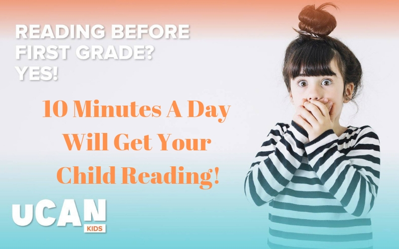Help your little one learn to read with the new online program from UCanCourses. Just 10 minutes a day will get your child reading before first grade!
