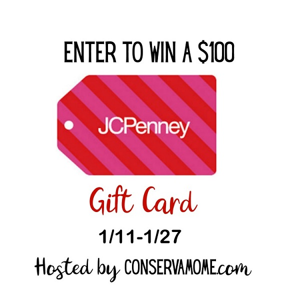 Start the New Year off right with a shopping spree at JCPenney. Enter to win the $100 JCPenney Gift Card Giveaway and treat yourself to a fun day!