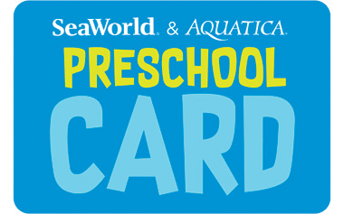 Free admission for children ages 5 and under with the 2019 SeaWorld Preschool Card. Valid for Orlando SeaWorld and Aquatica locations throughout 2019.