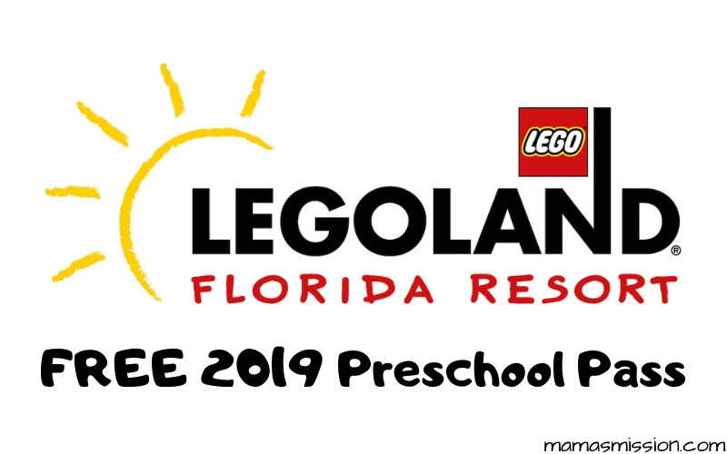Get free admission to Legoland Florida for children ages 4 and under with the 2019 Legoland Preschool Pass valid for the Florida Theme Park and Water Park.