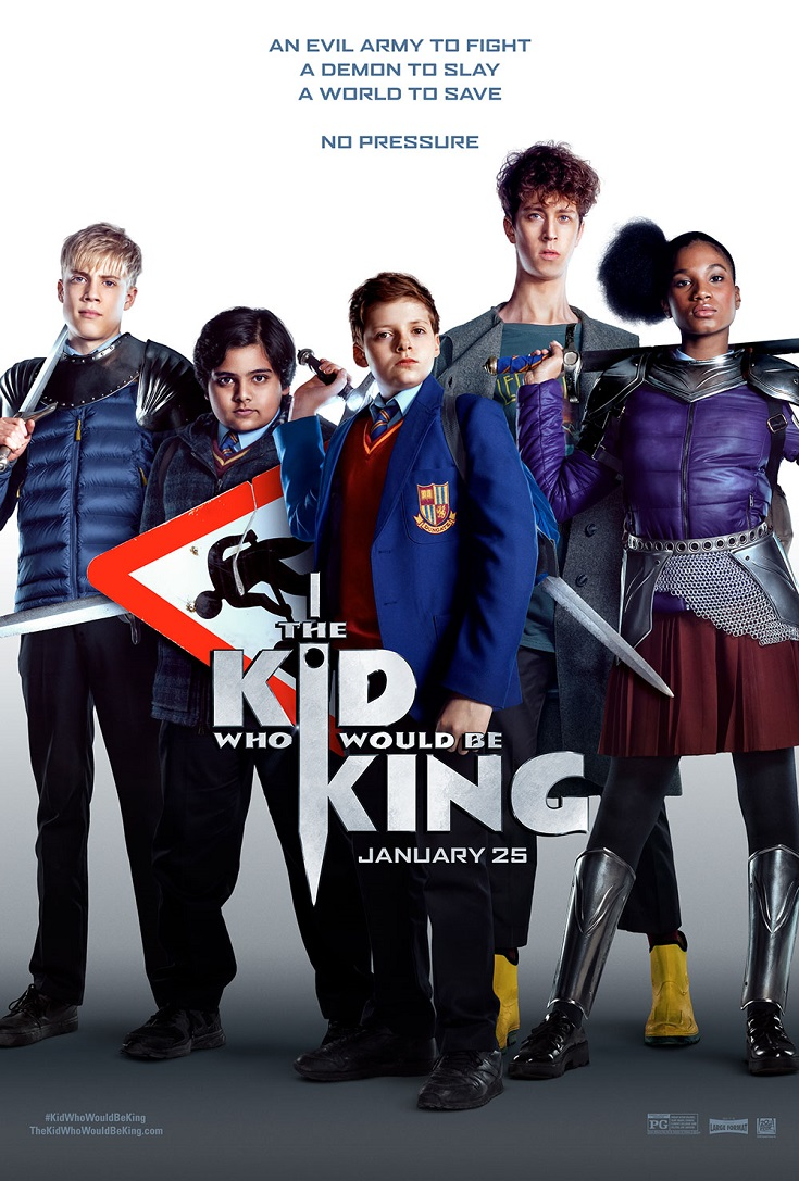 Take a break and head out for a family movie date with the kids to see The Kid Who Would Be King advance screening movie before anyone else.