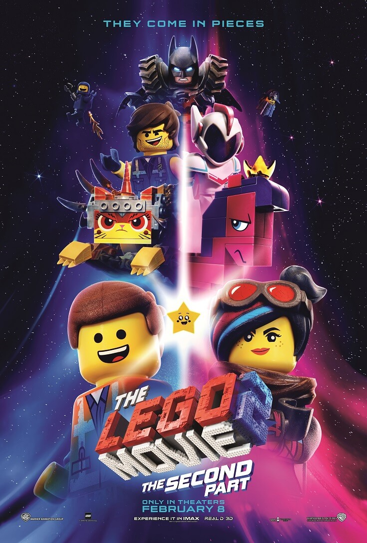 Take a break and head out for a family movie date with the kids to see The LEGO Movie 2 advance screening before anyone else for free!