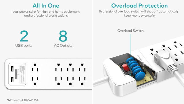 Protect all your technology in the event of a power surge! Enter to win one of ten Xcentz Surge Protector Power Strip with USB Ports and stay protected.