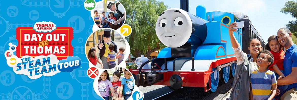 All Aboard for a giveaway! Join Thomas and Friends for a Day Out with Thomas in Miami during the Steam Team Tour 2019 March 2rd to 10th!