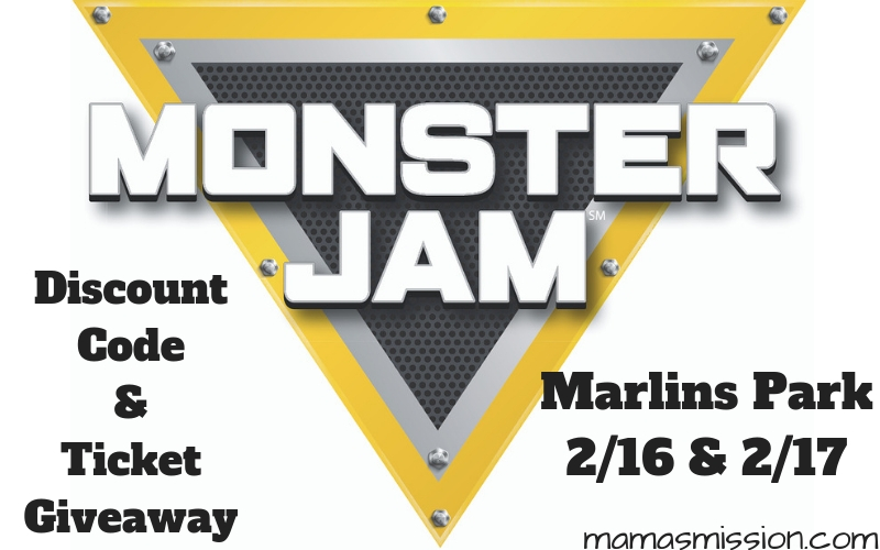 Monster Jam is rolling into South Florida for a dirt experience like never before. Grab this Monster Jam discount code and enter the ticket giveaway!