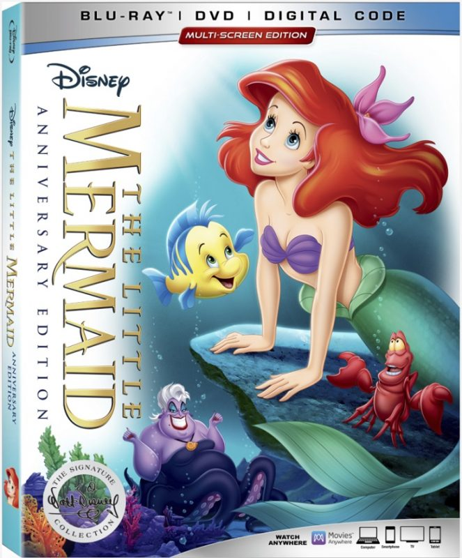Bring home The Little Mermaid Blu-ray 30th Anniversary Edition to share with your little Ariel fans. Now available on Digital, Blu-ray and 4K!