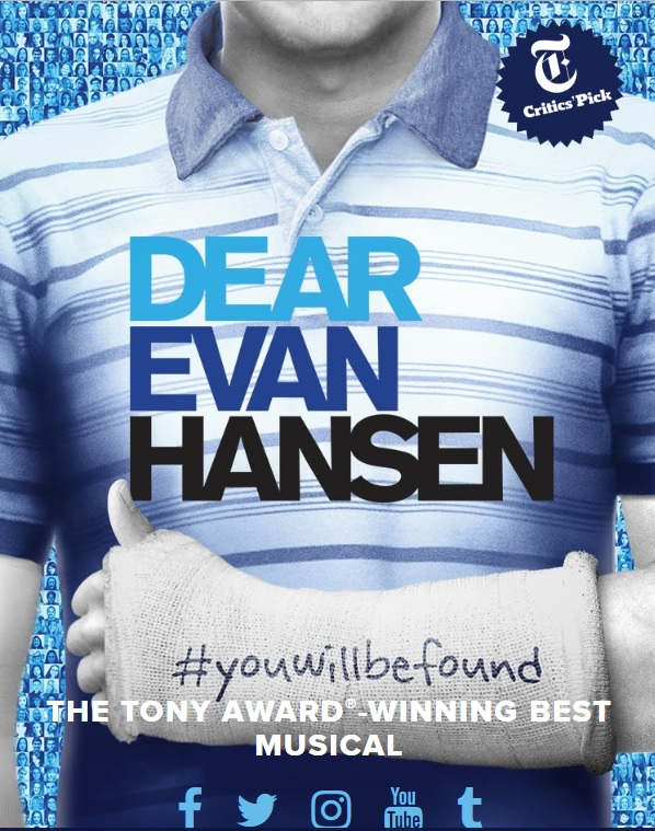Dear Evan Hansen is coming to South Florida. Enter the Dear Evan Hansen ticket lottery for your chance to see this Tony-Award winning musical for just $25.
