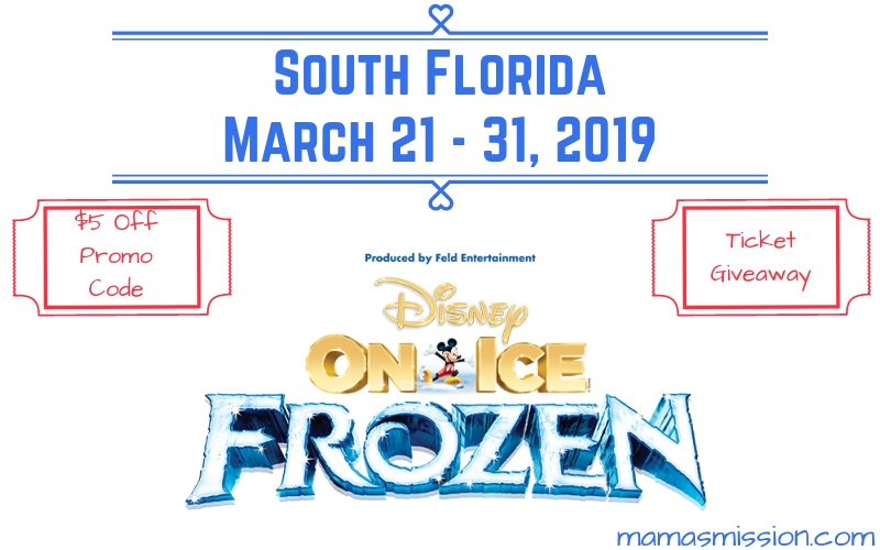 Disney on Ice presents Frozen is coming to South Florida. Save $5 off tickets with this Disney on Ice promo code for a magical frozen experience.