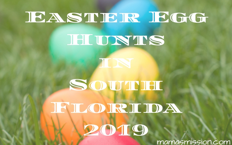 Are you on the hunt for Easter egg hunts in South Florida? You can find all the Easter egg hunts in Miami and Broward for 2019 listed here.
