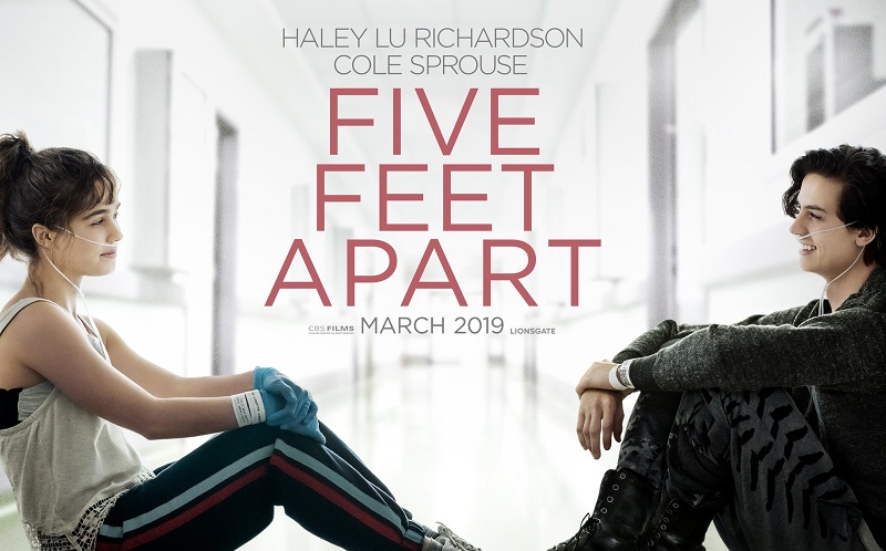 Take a midweek break and head out for a movie date night to see the Five Feet Apart advance screening movie before anyone else!