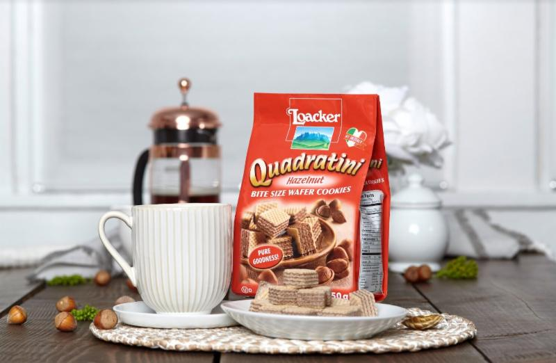 Experience Italian coffee culture with Loacker wafers made with pure cream and enter to win a Loacker wafer and coffee gift set filled with pure goodness!
