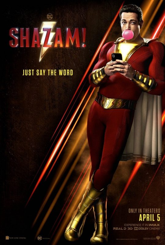 Take a midweek break and head out for a movie date night to see the Shazam advance screening in Miami before anyone else!