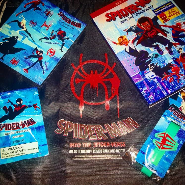 Can anyone really be Spider-Man? Bring home Spider-Man: Into the Spider-Verse DVD to add to your collection and enter to win a gift set giveaway.