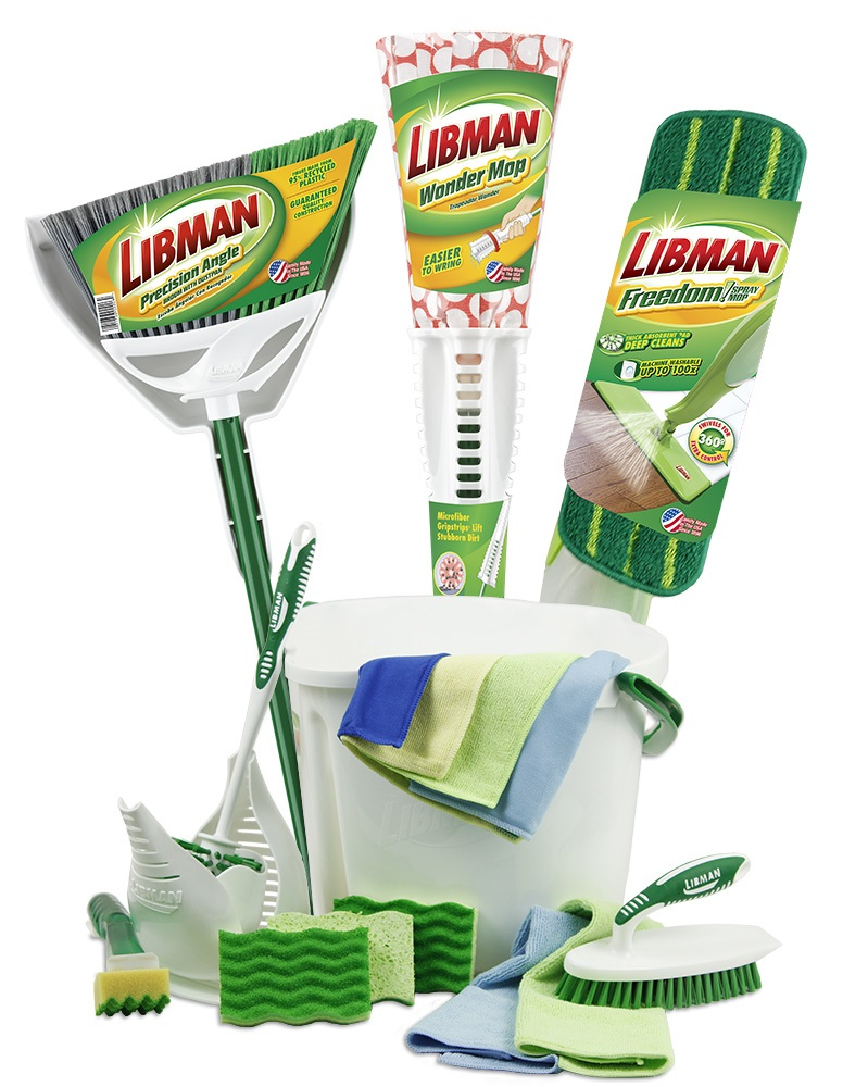 When you live with two dogs, two children and a husband, nothing stays clean for long. Enter for your chance to win a Libman Spring Cleaning prize pack!