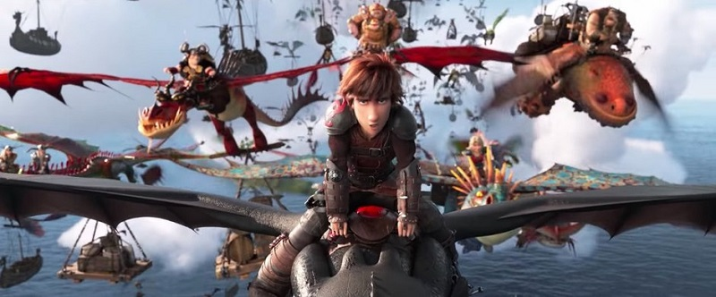 Enter to win the How To Train Your Dragon The Hidden World Blu-ray giveaway and download free printable coloring and activity sheets.
