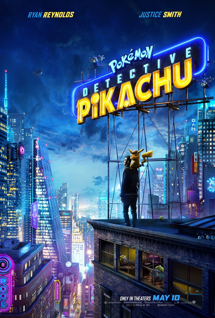 Take an evening break and head out for a fun family movie date night to see the Pokemon Detective Pikachu advance screening before anyone else!