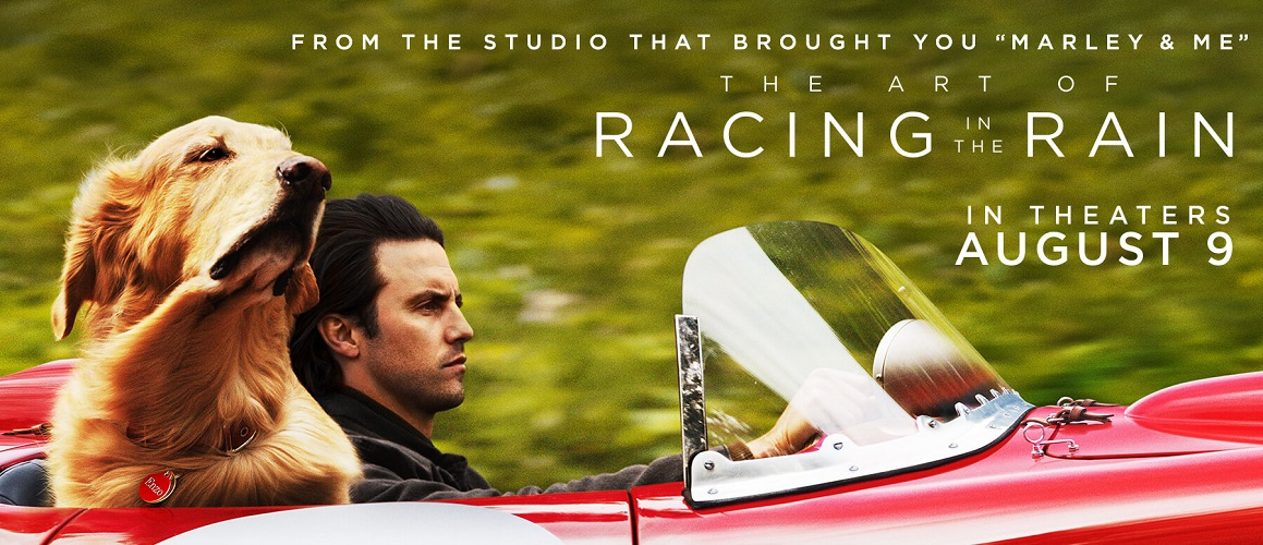 Take a midweek break and head out for a movie date night to The Art Of Racing In The Rain advance screening starring Milo Ventimiglia before anyone else!