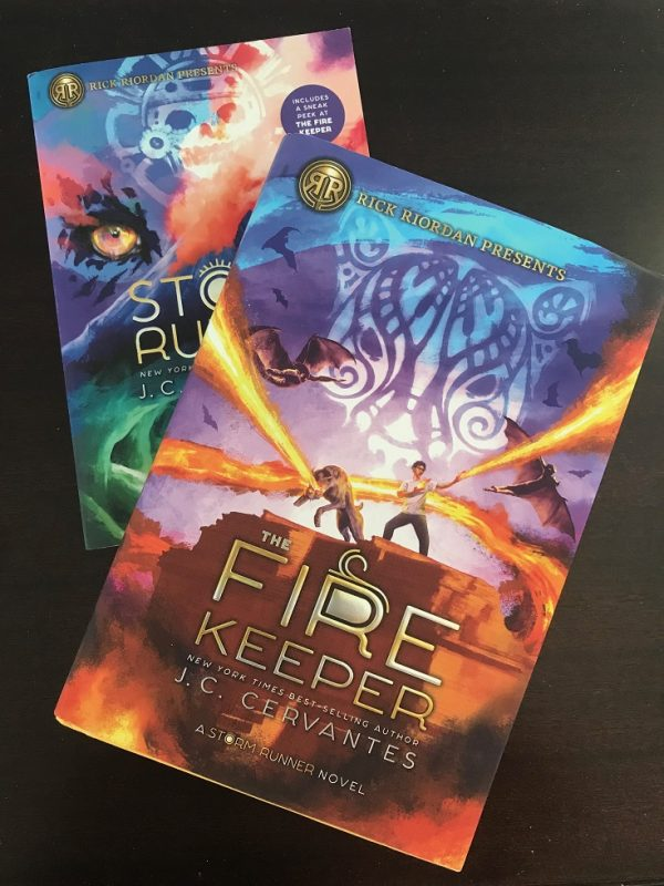First came The Storm Runner, and now The Fire Keeper. Follow Zane as he discovers secrets that will change him forever. The perfect read for tweens!