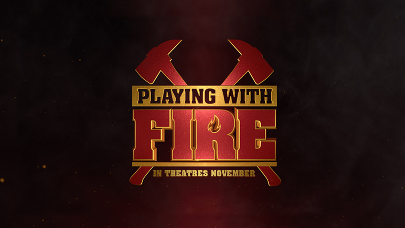 The Playing With Fire Movie starring John Cena, hits theatres November 8! See it first with these Playing with Fire advance screening passes.