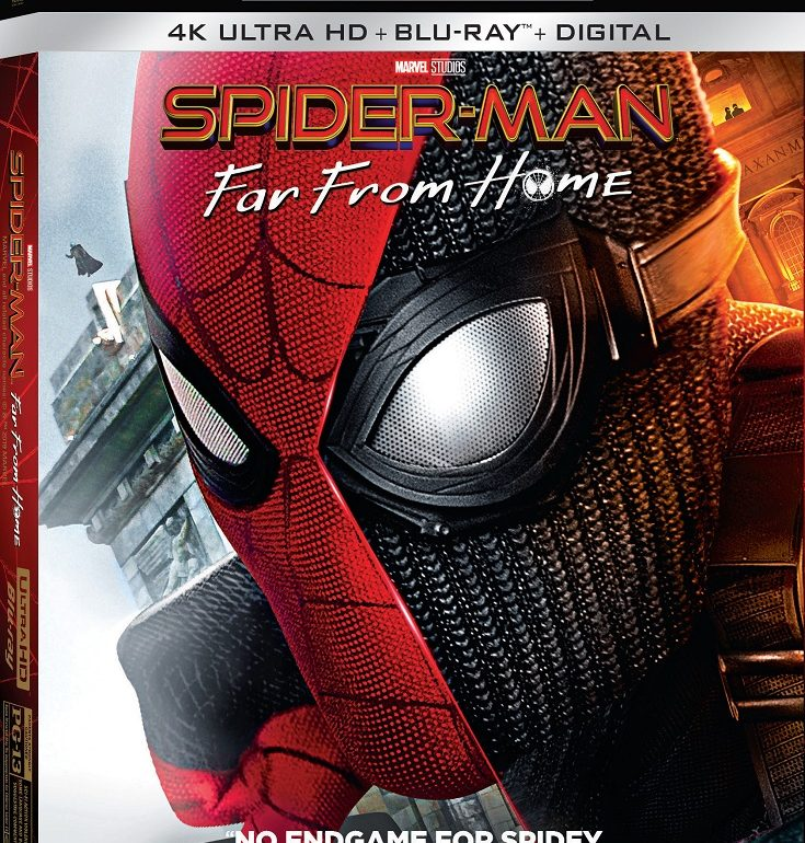 Can Spider-Man really take a vacation? Bring home Spider-Man: Far From Home DVD to add to your collection and enter to win a gift set giveaway.