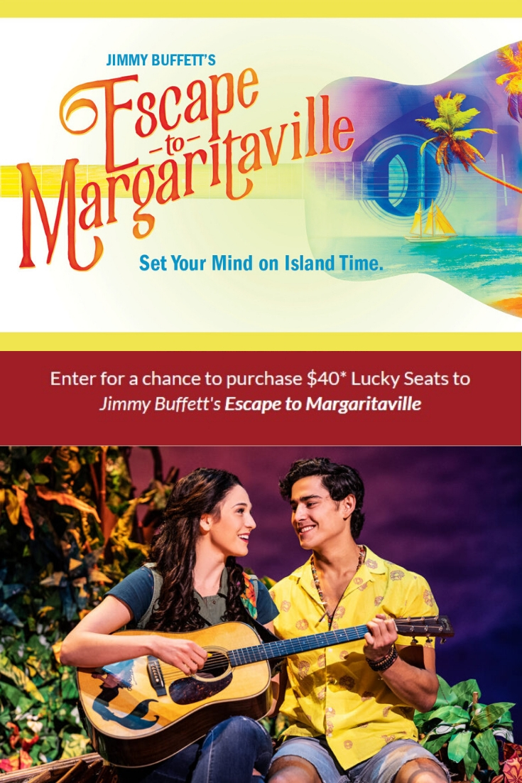 Jimmy Buffett's Escape to Margaritaville is coming to South Florida. Enter the Escape to Margaritaville ticket lottery to win tickets for just $40.