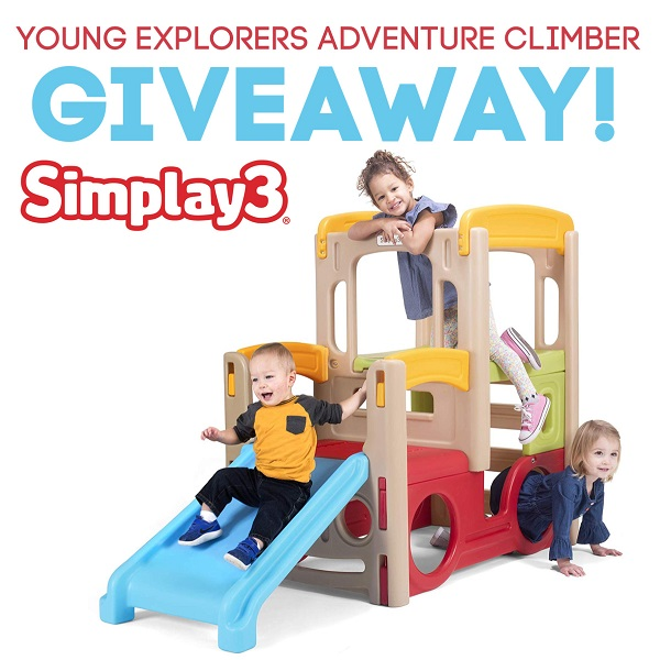 Perfect for little kids, the Simplay3 Young Explorers Adventure Climber is so much fun! Enter to win the giveaway for your little one.