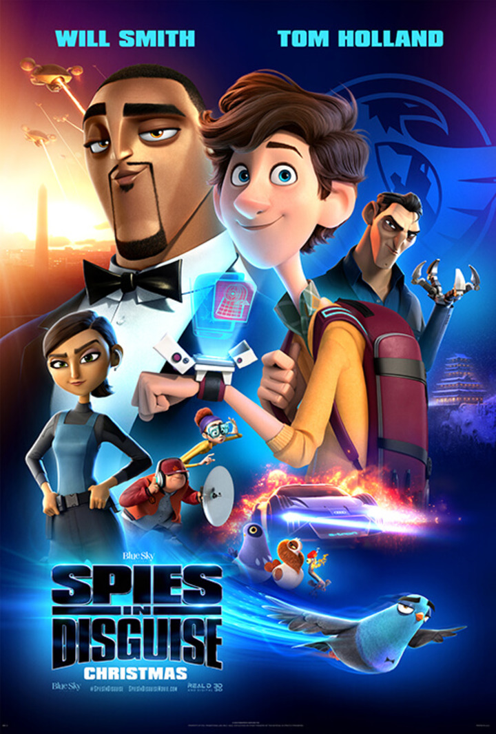 Enjoy a family movie date with these free Spies in Disguise advance screening tickets! Will Smith has this spy thing down, but can he do it as a pigeon?