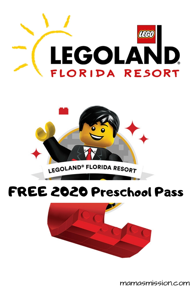 Get free admission to Legoland Florida for children ages 4 and under with the 2020 Legoland Preschool Pass valid for the Florida Theme Park and Water Park.