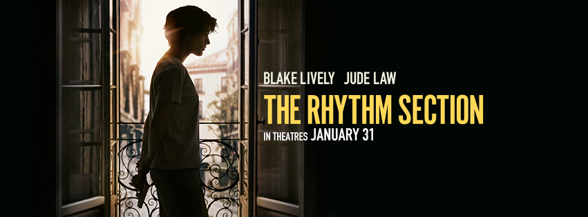 Enjoy a date night or Mamas Night out with these free The Rhythm Section advance screening tickets! This epic movie will have your heart beating out of control.