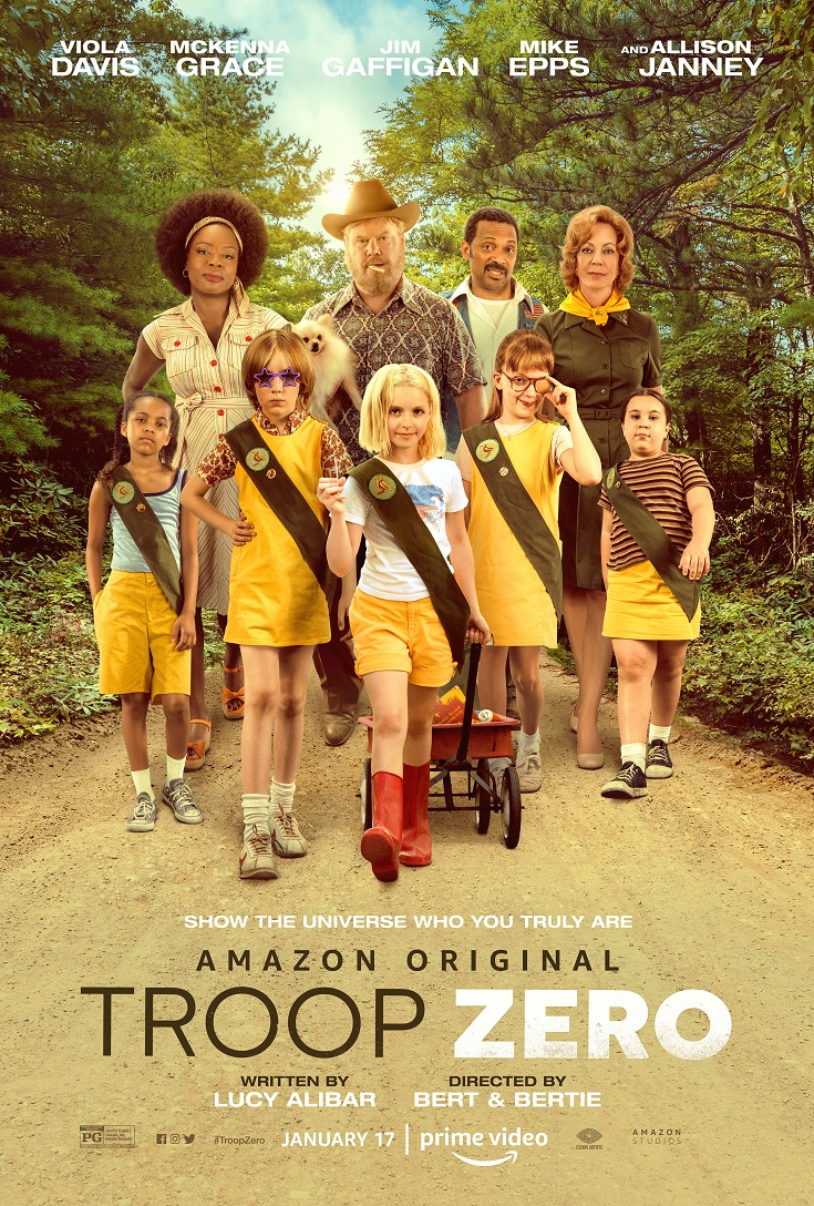 Enjoy a Girl Scout sisters outing with these free Troop Zero advance screening tickets! This cute movie will have your Scout reaching for the stars.