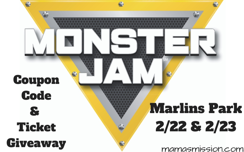 Monster Jam is rolling into South Florida for a dirt experience like never before. Grab this Monster Jam coupon code and enter the ticket giveaway!