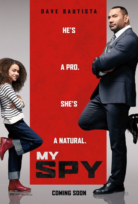 Enjoy a fun evening out with these free My Spy advance screening tickets! This funny movie is sure to bring you lots of laughs.