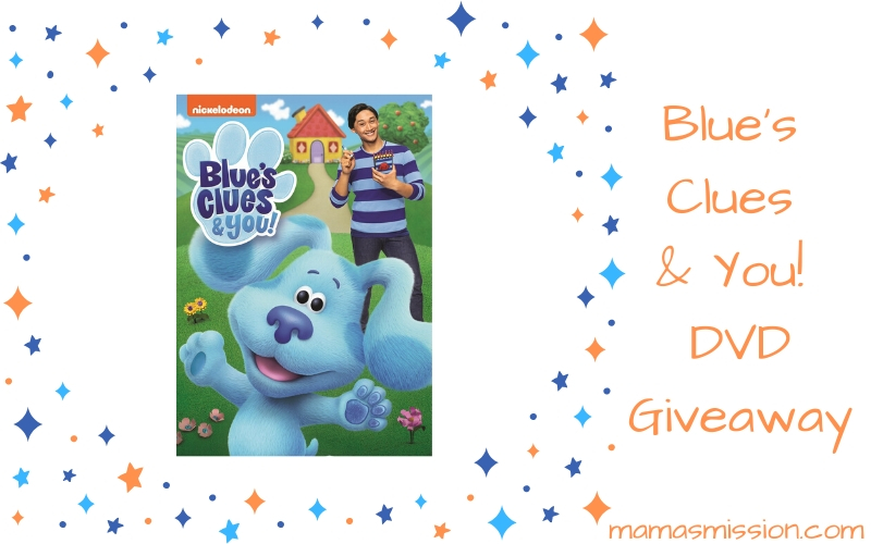 Your favorite little blue pup is back in Blue's Clues & You DVD now available to add to your collection. Enter to win the Blue's Clues & You! DVD giveaway!