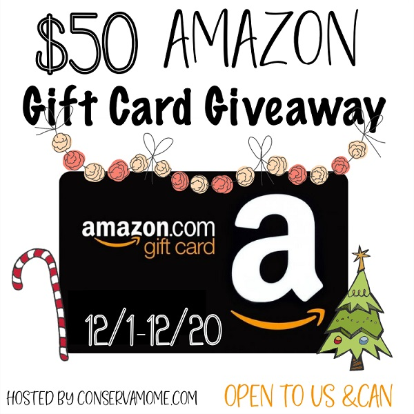 Enter to win the $50 Amazon Gift Card giveaway and let your fingers do the shopping for you! What would you buy with a $50 Amazon Gift Card?