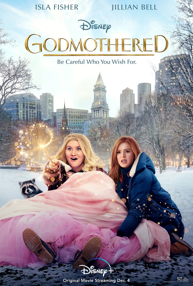 Disney's Godmothered brings all your childhood fantasies to reality. Streaming now on Disney+, don't miss this magical fairy tale.