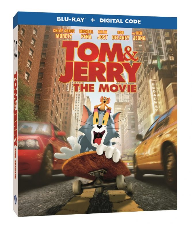 TOM & JERRY The Movie will be out on Digital, DVD & Blu-Ray on May 18th. Enter to win a copy in the @TomAndJerry The Movie Blu-ray giveaway. #TomAndJerryMovie