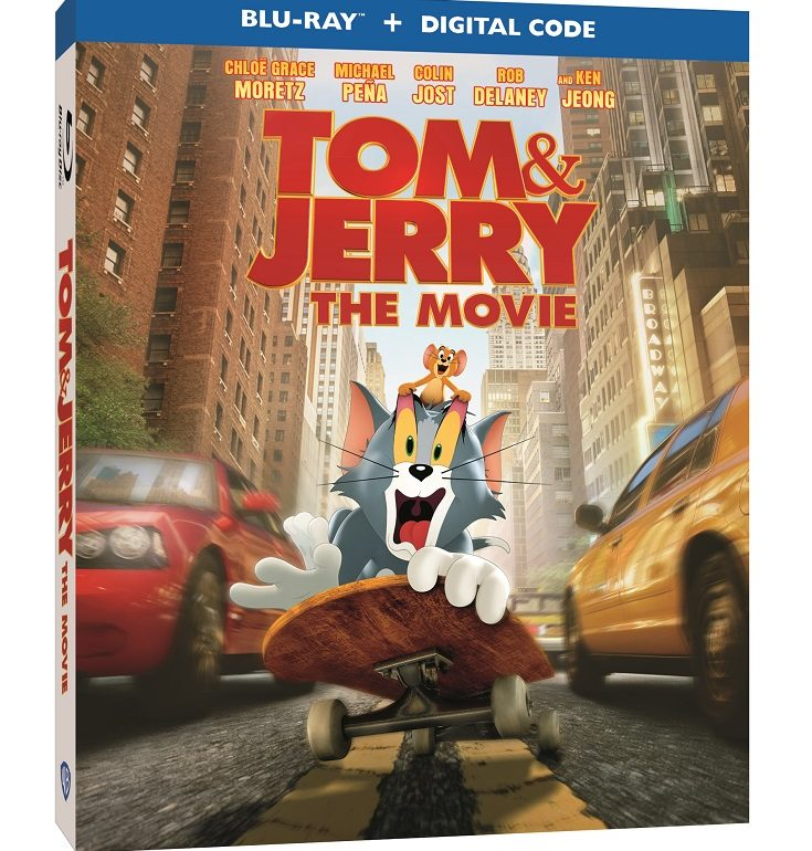 TOM & JERRY The Movie will be out on Digital, DVD & Blu-Ray on May 18th. Enter to win a copy in the @TomAndJerry The Movie Blu-ray giveaway.